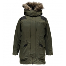 Men's Deck Faux Fur Parka by Spyder