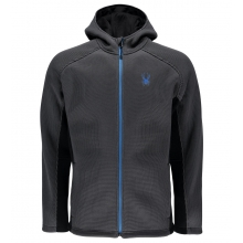 Men's Foremost Full Zip Hvy Wt Hoody Stryke Jacket by Spyder