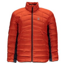 Men's Geared Full Zip Synthetic Down Jacket by Spyder in Glenwood Springs CO
