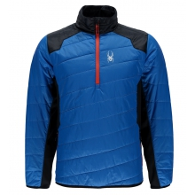 Men's Glissade Half Zip Insulator Jacket by Spyder