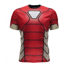 Men's Marvel S/S Tech Tee Top by Spyder