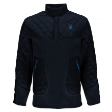 Men's Ouzo 1/2 Snap Lt Wt Stryke Jacket by Spyder