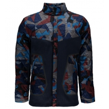 Men's Ouzo Full Snap Lt Wt Stryke Jacket by Spyder