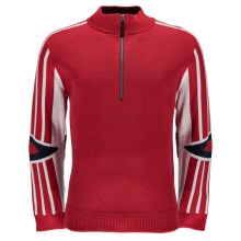 Men's Rad Pad Half Zip Sweater by Spyder