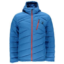 Men's Syrround Hoody Down Jacket by Spyder in Avon CO