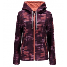 Women's Endure Novelty Mid Wt Hoody Stryke Jacket by Spyder