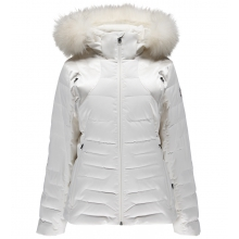 Women's Falline Real Fur Down Jacket by Spyder