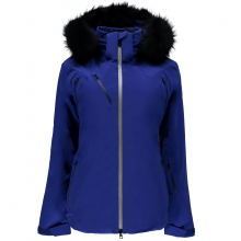 Women's Geneva Real Fur Jacket by Spyder in Glenwood Springs CO