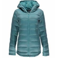 Women's Solitude Hoody Down Jacket by Spyder in Avon Ct