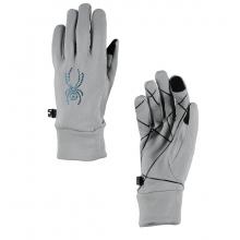 Women's Stretch Fleece Conduct Glove by Spyder