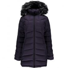 Women's Syrround Long Faux Fur Down Coat by Spyder