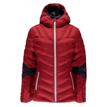 Women's Vintage Hoody Synthetic Down Jacket