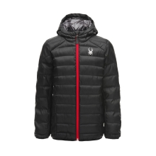 Boys' Geared Hoody Synth Down Jacket by Spyder in Squamish BC