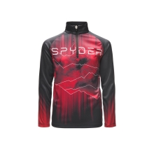 Boys' Limitless Rising Zip T-Neck by Spyder