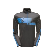 Men's Limitless Retro Zip T-Neck by Spyder in Edmonton Ab