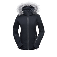 Women's Diabla Faux Fur Jacket by Spyder in Glenwood Springs CO