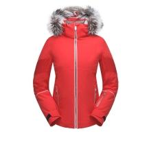 Women's Diabla Real Fur Jacket by Spyder in Glenwood Springs CO