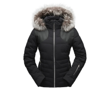 Women's Falline Real Fur Jacket by Spyder in Glenwood Springs CO