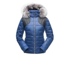 Women's Falline Real Fur Jacket by Spyder in Avon Co