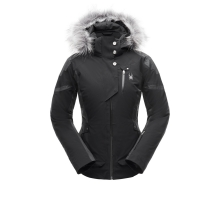 Women's Meribel Faux Fur Jacket by Spyder in Cochrane Ab