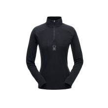 Women's Shimmer Zip T-Neck by Spyder in Avon Ct