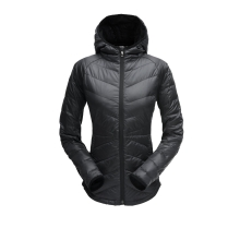 Women's Solitude Hoody Down Jacket by Spyder in Phoenix Az