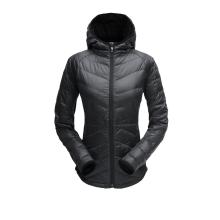 Women's Solitude Hoody Down Jacket by Spyder in Mesa Az