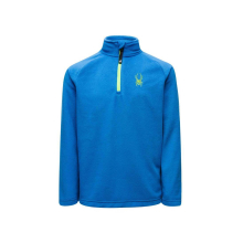 Boys' Speed Fleece Zip T-Neck