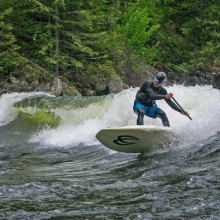 River Surfer 140 by Badfish