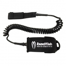 11 Foot Coil Leash by Badfish