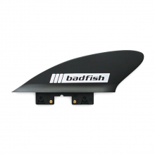 2in Soft Flex Side Bight Click Fins (Black/ 2 pack) by Badfish
