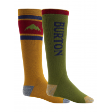 Men's Weekend Midweight Snowboard Sock 2 Pack by Burton
