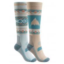 Women's Performance Lightweight Snowboard Sock 2 Pack by Burton