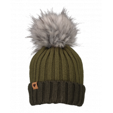 Denver Faux Fur Pom Hat