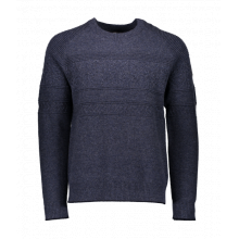 Textured Crewneck Sweater by Obermeyer