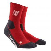 Men's Outdoor Light Merino Mid-Cut Socks by CEP Compression in Suwanee Ga