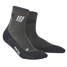 Women's Dynamic+ Merino Cycle Short Socks by CEP Compression in Stockton Ca