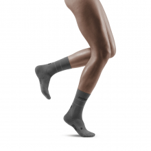 Women's Reflective Mid-Cut Socks by CEP Compression