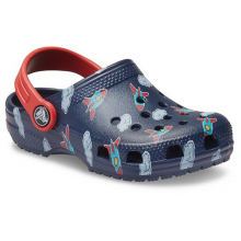 Kids' Classic Toddler Printed Clog by Crocs