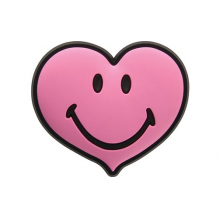 Smiley Brand Pink Heart by Crocs