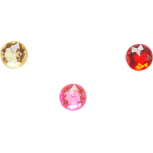 Sparkly Circle 3-Pack #1 by Crocs