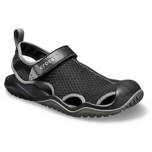 Men's Swiftwater Mesh Deck Sandal by Crocs