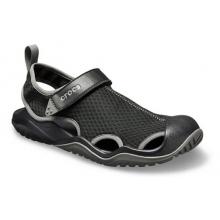 Men's Swiftwater Mesh Deck Sandal by Crocs in Lahaina HI