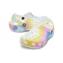 Kids' Classic Tie-Dye Graphic Clog by Crocs in Ocean City MD