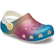 Kids' Classic Ombre Glitter Clog by Crocs in Knoxville TN