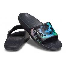 Classic Crocs Tie-Dye Graphic Slide by Crocs in Mashantucket CT