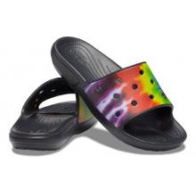 Classic Crocs Tie-Dye Graphic Slide by Crocs in Marshfield WI