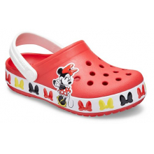 Kids' Crocs Fun Lab Disney Minnie Mouse Band Clog by Crocs in Lawrenceville GA