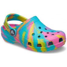 Kids' Classic Marbled Clog by Crocs in Monroe OH