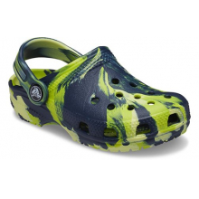 Kids' Classic Marbled Clog by Crocs in Lahaina HI
